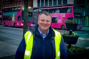 Alec Bailey from Translink