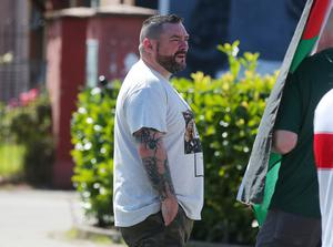 OWN GOALS: Derry New IRA leader Thomas Mellon was among those detained