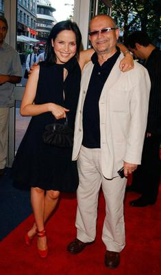 Andrea Corr with her father Gerry