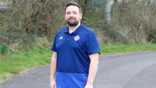 OUT AND ABOUT: Lee has combined walks with a better diet to achieve his results