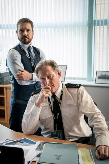 CRACK TEAM: Adrian Dunbar and Martin Compston