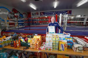 Spirit Of Northern Ireland Awards 2020 winner Paul Johnston from Monkstown Boxing Club. Picture Colm O'Reilly Sunday Life 29-05-2020.