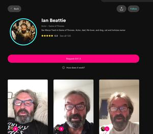 Ian Beattie Cameo profile