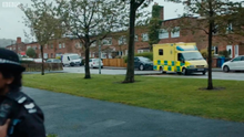 FAMILIAR: Some scenes for the new Line of Duty series were shot along Burren Way