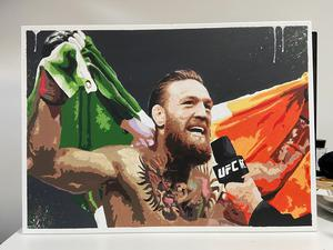 Conor McGregor piece by Jordan Breen