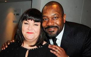 Dawn French and Lenny Henry