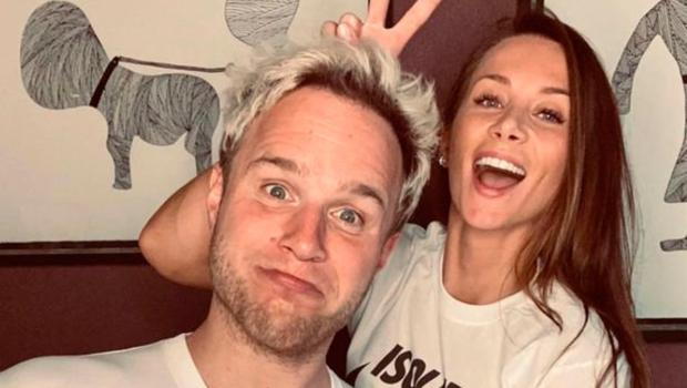 Olly Murs and girlfriend Amelia Tank
