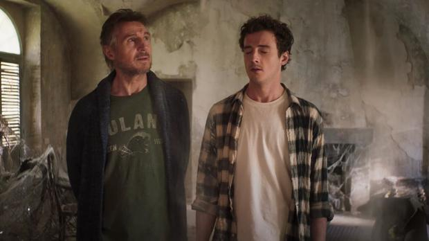 Liam Neeson and son Michael in Made in Italy