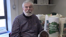 BIZARRE: Gerry Adams launches the united Ireland Easter eggs