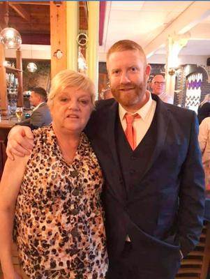 Terry with his mum Lesley