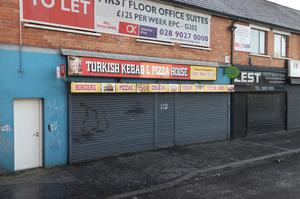 FINED: The Turkish Kebab and Pizza House on Belfast's Andersonstown Road