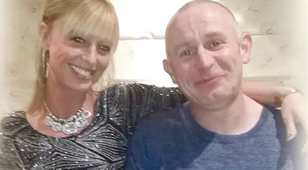 Brian McIlhagga from Ballymena who was shot in Ballymoney with Ashley Craig, who was injured in the attack