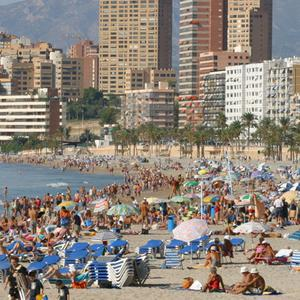 A Northern Ireland couple were caught up in gang shooting in Spain