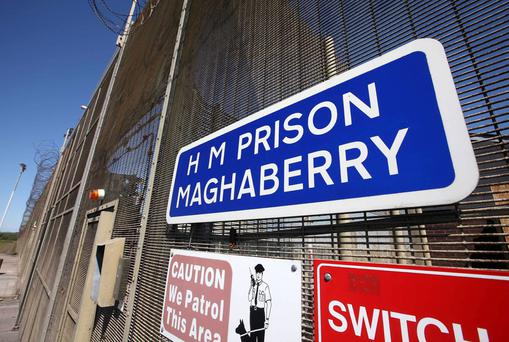 Staff have refused to begin work at Maghaberry