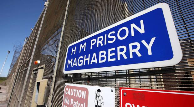 A prisoner at Maghaberry Prison has died