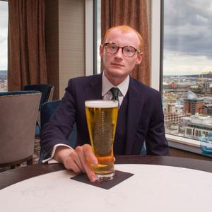 Christopher Woodhouse samples Belfast's most expensive pint.
