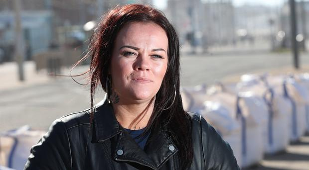 Sonya Johnston who was in relationship with covicted rapist Michael Gilbert. (Photo by Colm O'Reilly, Sunday Life 28-09-2018)