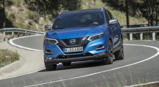 Undated Handout Photo of the new Nissan Qashqai.
