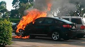 Some BMW cars are at risk of going on fire