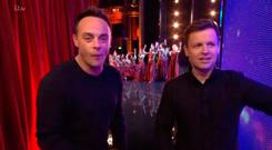 Britains Got Talent Ant and Dec. 2019