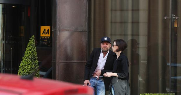 Game of Thrones star Richard Dormer from Lisburn at the Fitzwilliam hotel. (Photo by Colm O'Reilly,Sunday Life)
