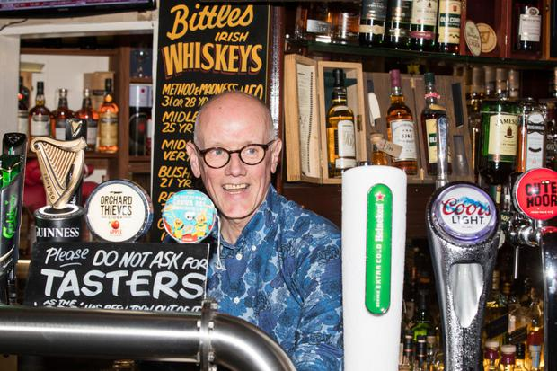 Owner John Bittle of Bittles Bar, Church Street Belfast. (picture Colm O'Reilly Sunday Life 30-05-2019)
