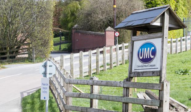 Universal Meat Company and family home of DUP David Simpson.