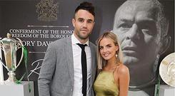 Joanna Cooper and Conor Murray
