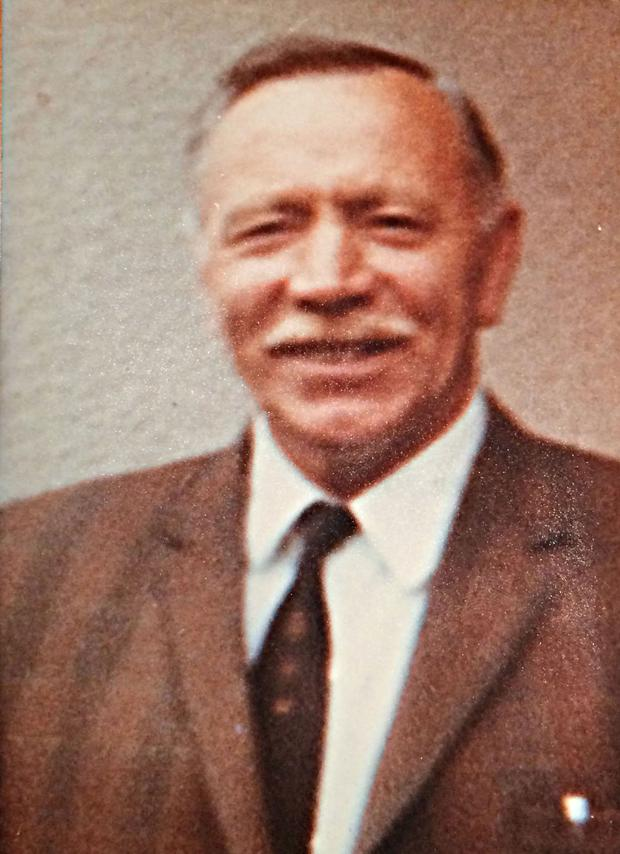 Colonel George Saunderson who was shot dead by the Provisional IRA on 10th April 1974 in the Earl of Erne Primary School in Teemore, County Fermanagh. Credit: SEFF