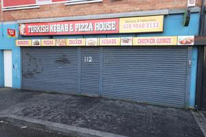 Hygiene charges: Turkish Kebab and Pizza House on Andersonstown Road