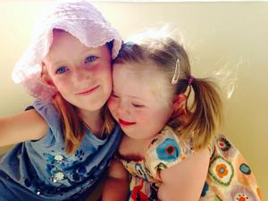 Sinead Lynch, a personal trainer from Derry city, was left devastated when her seven-year-old daughter Ruby, who had Down's syndrome, died two and a half years ago. Ruby with older sister Anna