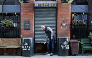 The shutters have come down on pubs across Northern Ireland as another lockdown takes effect