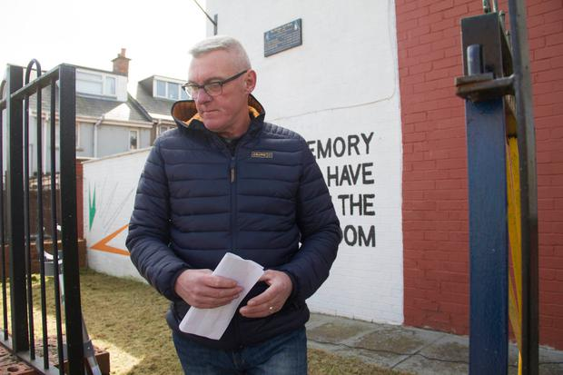 SWOOP: Gary McNally was arrested then freed last week