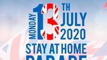 Rathfern and Rathcoole 13th July plans for a stay at home parade called Operation front garden