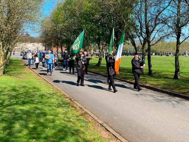 Milltown wreath-laying ceremony