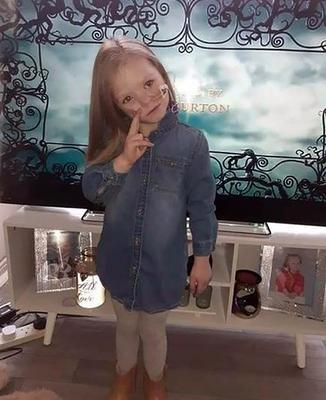 Little Kendal Flitcroft, from Bangor, Co Down, passed away on Tuesday.