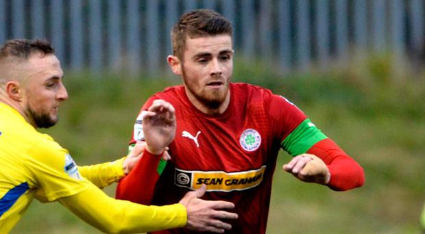 Cliftonville's Ruaidhri Donnelly
