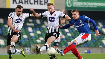 Linfield faced Dundalk in the inaugural Champions Cup in November 2019 but could the two leagues come together?