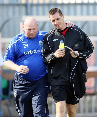 David Jeffrey's Linfield prove tough to stop in Baxter's early managerial days.