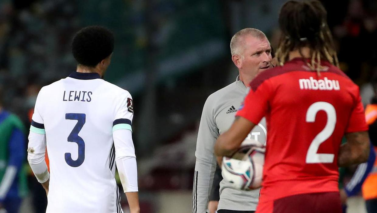Gareth McAuley: Jamal Lewis' red card was very harsh… the referee got sucked in by Switzerland fans