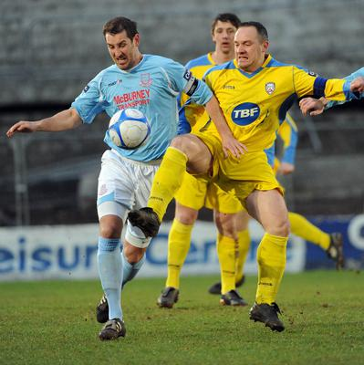 Haveron captained Ballymena United after joining the club in 2005.