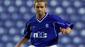 Lee Feeney during his days at Rangers from 1999 to 2002.