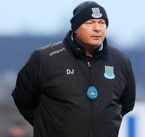 David Jeffrey is currently banned for Ballymena's Irish Cup semi-final
