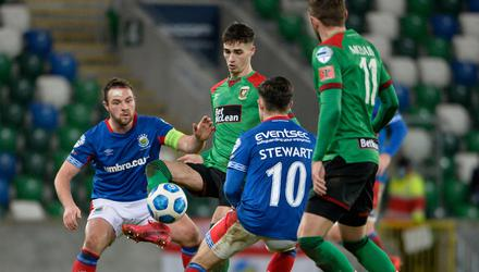 Linfield could soon be playing Glentoran during a summer season