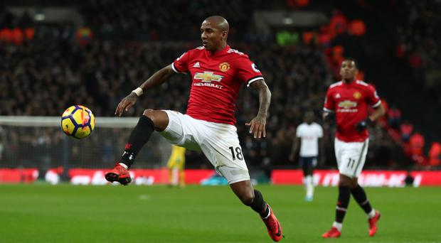 High belief: Ashley Young is aiming for Champions League glory