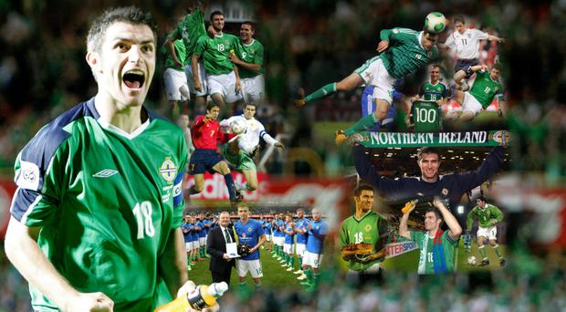 Aaron Hughes made a total of 112 appearances for Northern Ireland.