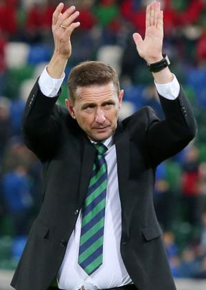 New Northern Ireland manager Ian Baraclough
