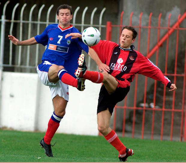 Paul McKnight during his Linfield days