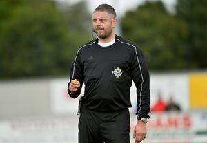 Irish League referee and NIRA chief negotiator Raymond Crangle