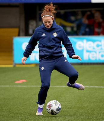 Marissa Callaghan gearing up to face England.